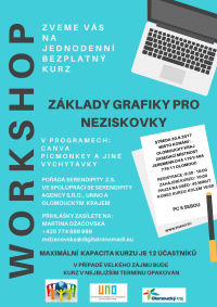 Plakát  Grafický kurz 2017 09 20