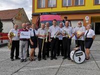 Dechová hudba KORNET Soběchleby 15.8.2020