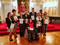 Dobrovolníci ocenění Křesadlem v roce 2017